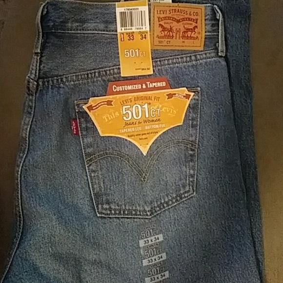 dee93890 Levi's Jeans | Women Levis 501 Button Fly Blue W33 L34 | Poshmark